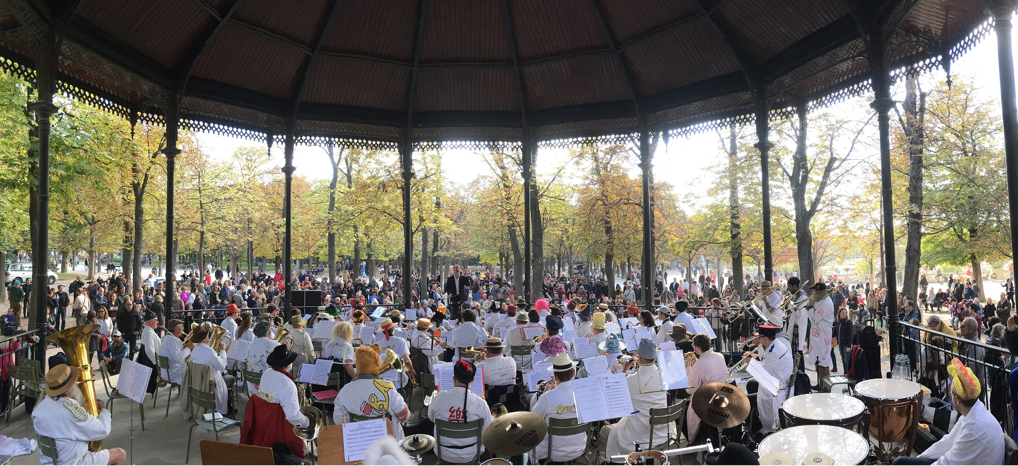 Concert au jardin du luxembourg for Au jardin wedding